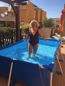 swimmer/s or swim spot